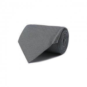 Шелковый галстук Tom Ford. Цвет: серый