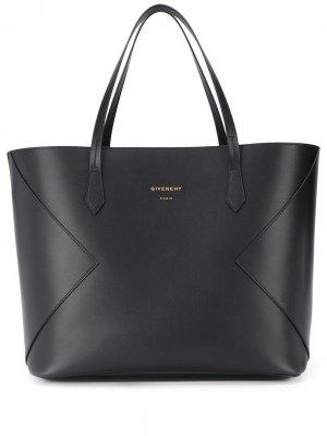 Большая сумка-тоут Wing Givenchy. Цвет: черный