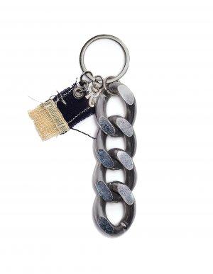 Брелок с серебристой цепью Raf Simons