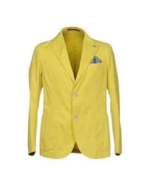 Пиджак GABARDINE. Цвет: желтый
