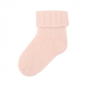 Кашемировые носки Oscar et Valentine. Цвет: розовый