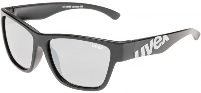 Солнцезащитные очки детские Uvex. Цвет: черный