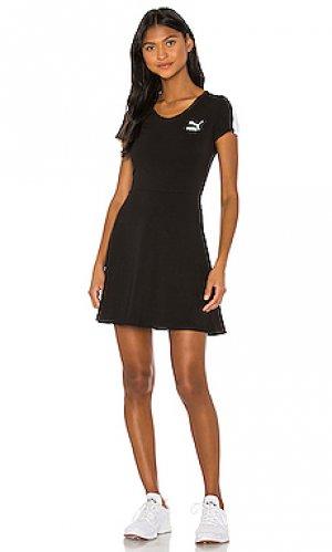 Мини платье classics Puma. Цвет: черный