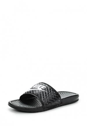 Сланцы Nike WOMENS BENASSI JUST DO IT. SANDAL. Цвет: черный