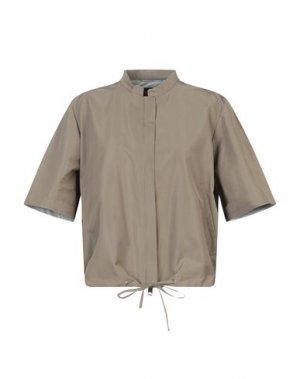 Куртка LES COPAINS. Цвет: зеленый-милитари