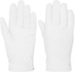 Перчатки для девочек , размер 5 Demix. Цвет: серый