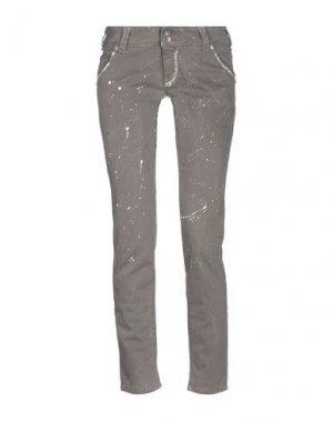 Джинсовые брюки JCOLOR. Цвет: голубиный серый