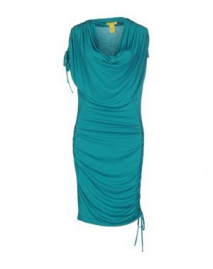 Платье до колена CATHERINE MALANDRINO. Цвет: светло-зеленый