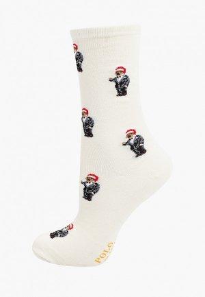 Носки Polo Ralph Lauren. Цвет: белый