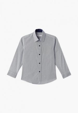 Рубашка MiLi. Цвет: синий