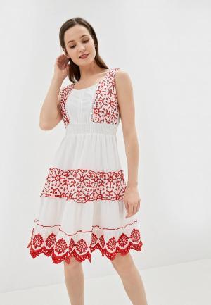 Платье Camomilla Italia. Цвет: белый