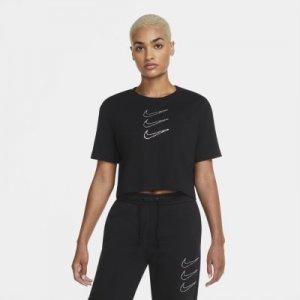 Женская укороченная футболка Sportswear Rhinestone Nike