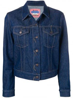 Джинсовая куртка 1999 Acne Studios. Цвет: синий