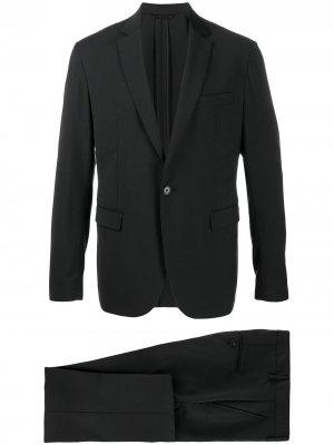 Строгий костюм-двойка Dondup. Цвет: черный