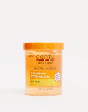 Гель для укладки сильной фиксации с маслом ши -Бесцветный Cantu