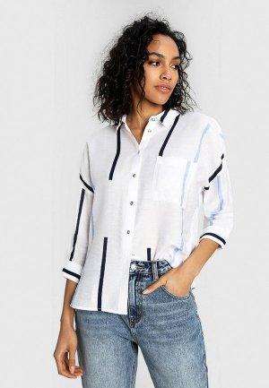 Блуза Ostin O'stin. Цвет: белый