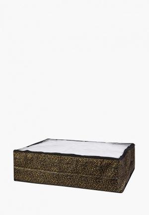 Короб для хранения El Casa. Цвет: черный
