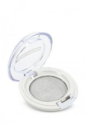 Тени для век Seventeen компактные, тон 18 Extra Sparkle Shadow серебро. Цвет: серебряный
