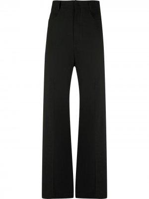 Расклешенные брюки Le Pantalon Sauge Jacquemus. Цвет: черный