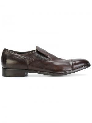 Туфли-слипон Alberto Fasciani. Цвет: коричневый