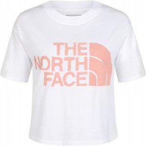 Футболка женская , размер 40-42 The North Face. Цвет: белый