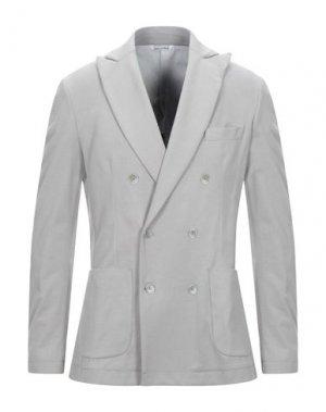 Пиджак YOON. Цвет: серый
