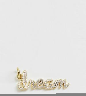 Позолоченная подвеска для ожерелье Galleria Armadoro-Золотой Amadoro