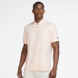 Мужская рубашка-поло с графикой для гольфа Dri-FIT Vapor - Розовый Nike
