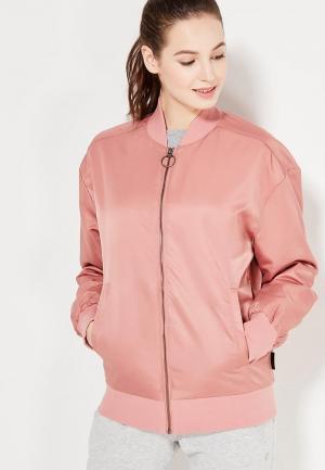 Куртка Reebok. Цвет: розовый