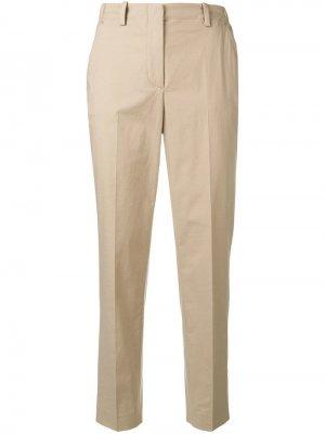 Укороченные брюки чинос строгого кроя Incotex