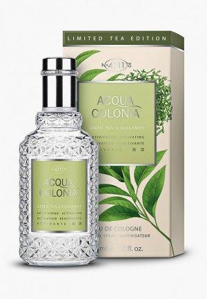 Одеколон 4711 Acqua Colonia Activating-Green Tea & Bergamot, 50 мл. Цвет: прозрачный