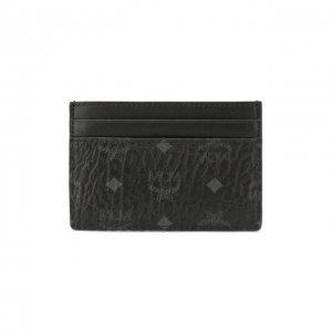 Футляр для кредитных карт MCM. Цвет: чёрный