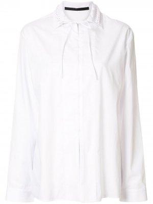 Блузка Byron Haider Ackermann. Цвет: белый