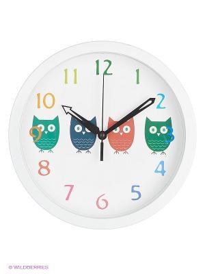 Детские настенные часы Hama Owls. Цвет: белый