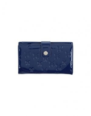 Бумажник CHRISTIAN LACROIX. Цвет: темно-синий