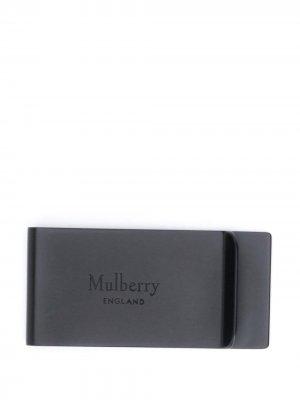 Зажим для банкнот Mulberry. Цвет: черный