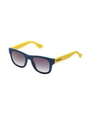Солнечные очки HAVAIANAS. Цвет: синий