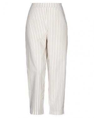 Повседневные брюки MAMA B.. Цвет: бежевый