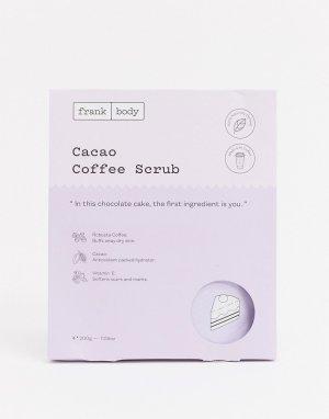 Скраб для тела Frank Cacao Coffee 200 г-Очистить body