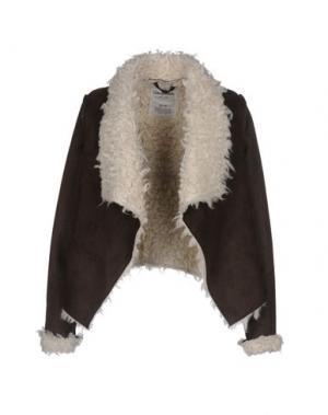 Куртка AÉROPOSTALE. Цвет: темно-коричневый
