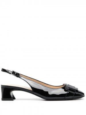 Tods туфли-лодочки с цепочкой Tod's. Цвет: черный