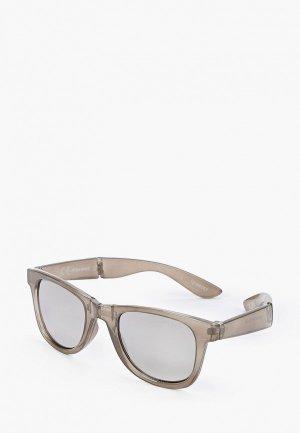 Очки солнцезащитные Jack & Jones. Цвет: серый