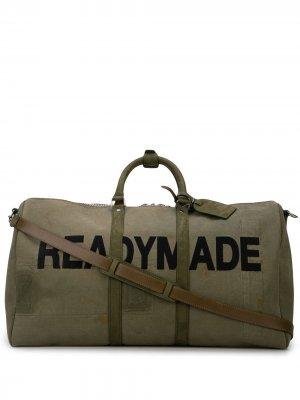 Дорожная сумка с логотипом Readymade. Цвет: зеленый