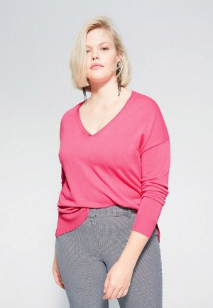 Пуловер Violeta by Mango - LISA. Цвет: розовый