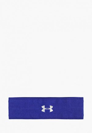 Повязка Under Armour Perfect Headband 2.0. Цвет: синий