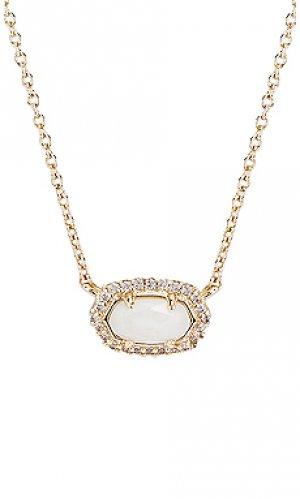 Ожерелье chelsea Kendra Scott. Цвет: металлический золотой