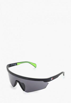 Очки солнцезащитные Tommy Hilfiger. Цвет: черный