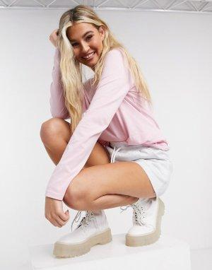 Розовый лонгслив Polo Ralph Lauren