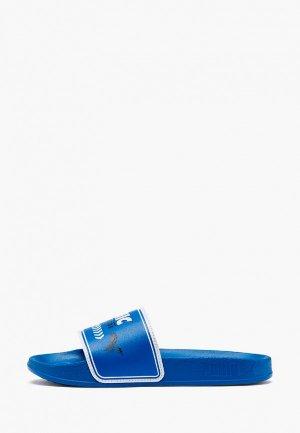 Сланцы PUMA SEGA Leadcat FTR SONIC PS. Цвет: синий