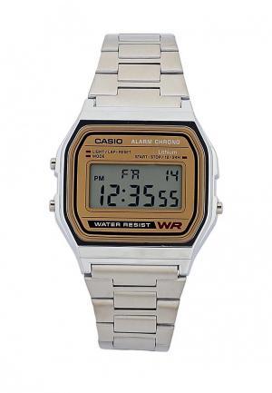 Часы Casio Collection A-158WEA-9E. Цвет: серебряный